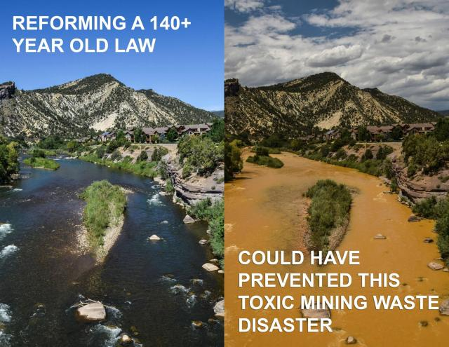 Animas spill requires 1872 Mining Law Reform