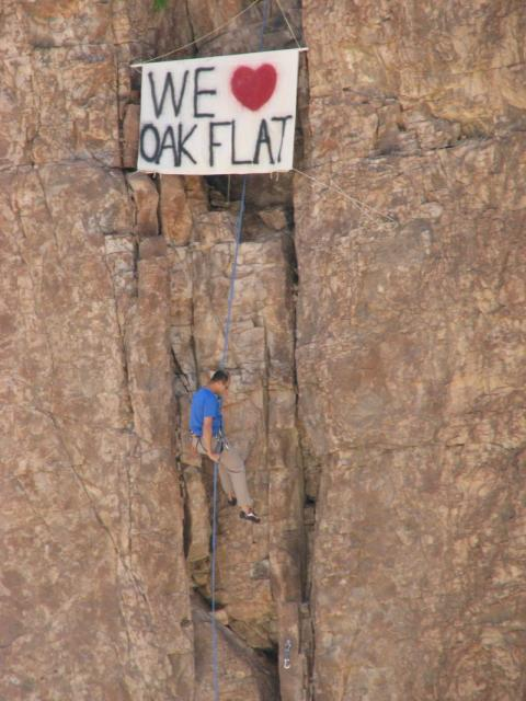 I Love Oak Flat