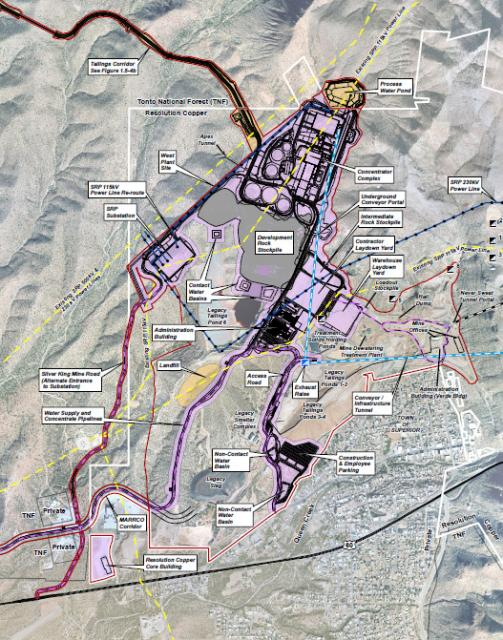 Proposed Mine Mill Plan