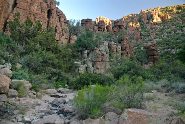 Rancho Rio Creek just off Devil's Canyon